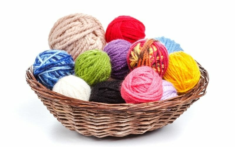 Select the hat knitting Yarn