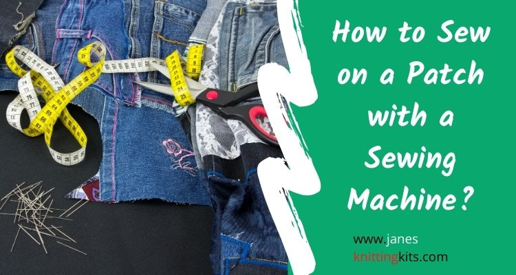How to Sew on a Patch with a Sewing Machine_