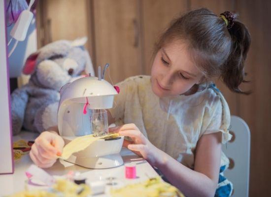 Kid Friendly Sewing Machine