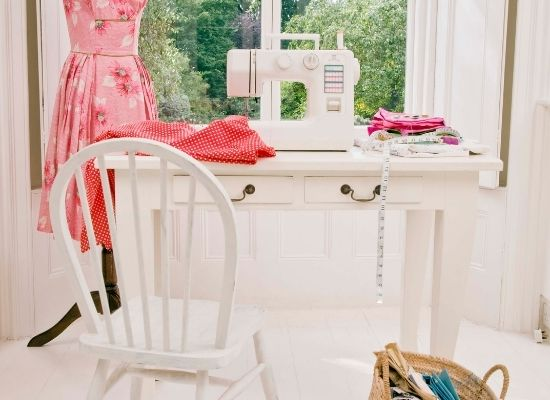 Proper Light And Airflow in sewing room