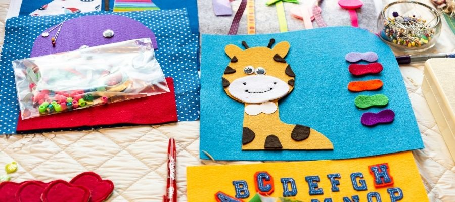 kids sewing project