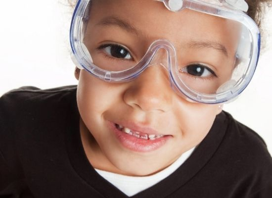 sewing safety goggle