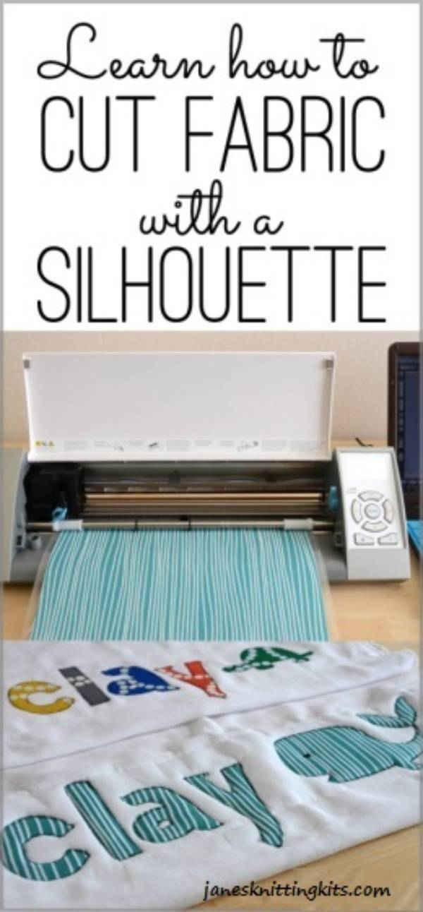 Cutting Fabric with Silhouette